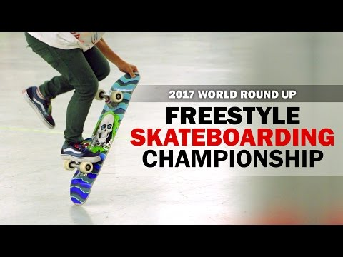 2017 Freestyle Skateboarding World Round-Up Trailer