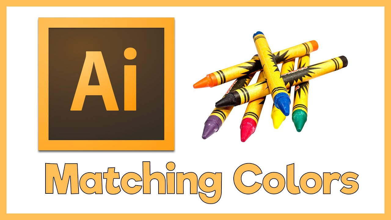 Color adobe online - Adobe Illustrator Cs5 Tutorial How To Match Colors From Images Exactly Creating Color Swatches Youtube