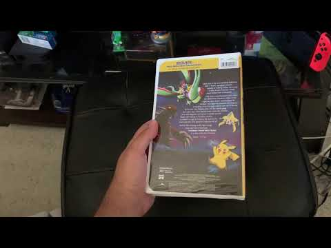 Opening To Pokemon Jirachi Wish Maker 2004 Vhs Side Label 573