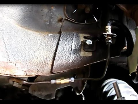 How to splice a broken brake line with a double flare union