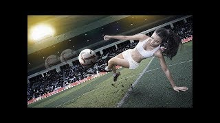 TOP 10 HOTTEST FEMALE FOOTBALL PLAYERS   BEAUTIFUL FEMALE SOCCER PLAYERS 2019