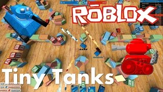 ROBLOX - Kawaii Tank Battles - Tiny Tanks!