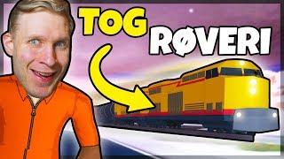 train ROBBERY con FANS! -Danese Roblox: Jailbreak