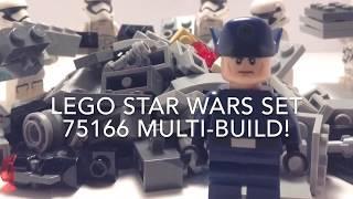 Lego Star Wars Set 75166 Multi-build!