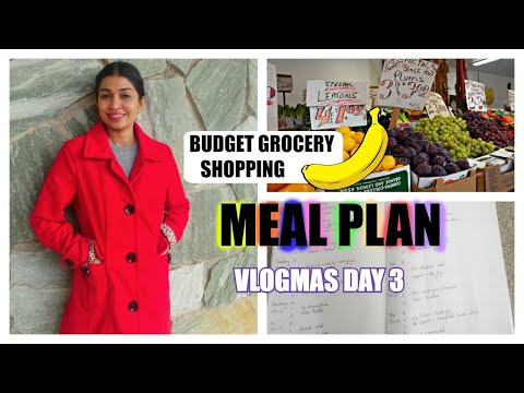 Grocery Shopping on a Budget/Meal Plan for a month/Candid homemaking thumbnail
