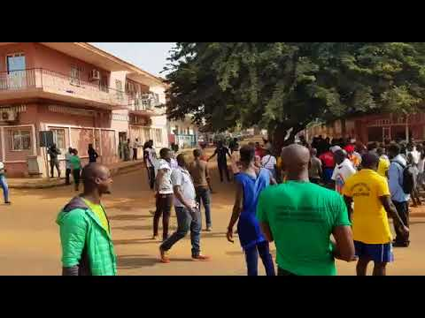 Major Protest March in Bissau 16 November 2017 -3