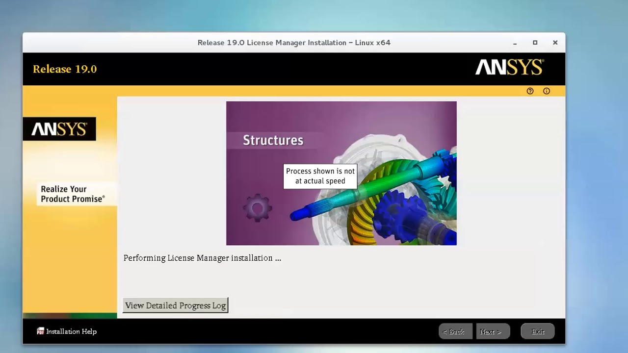 Installing ANSYS 19 License Manager on Linux