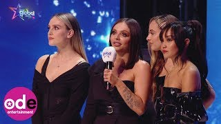 Little Mix joke about using award as door stop!