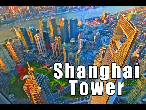 Shanghai Tower in 1 EPIC Minute! AWESOME!! | Don's ESL Adventure!