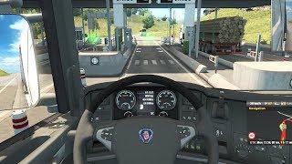 Euro Truck Simulator 2 - Part 1 | Scania R560 | Mannheim to Metz