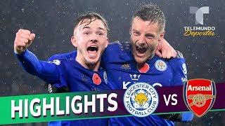 Leicester City vs. Arsenal: 2-0 Goals & Highlights | Premier League | Telemundo Deportes