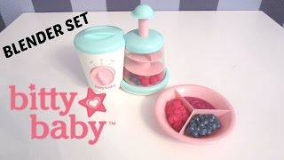 BITTY BABY BLENDER UNBOXING!