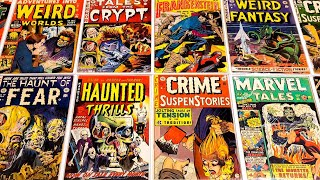 HORROR COMIC BOOK COLLECTION