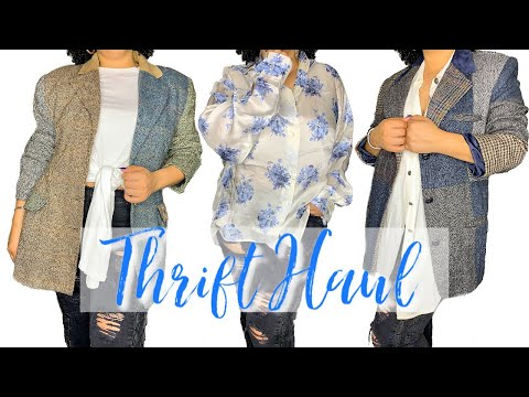 INSANE 2020 Thrift Haul! | Thrifting 2020 Spring Fashion Trends!. http://bit.ly/2GPkyb3