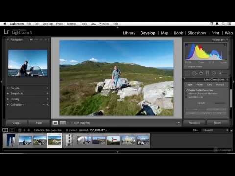 Lens Correction in Lightroom 5