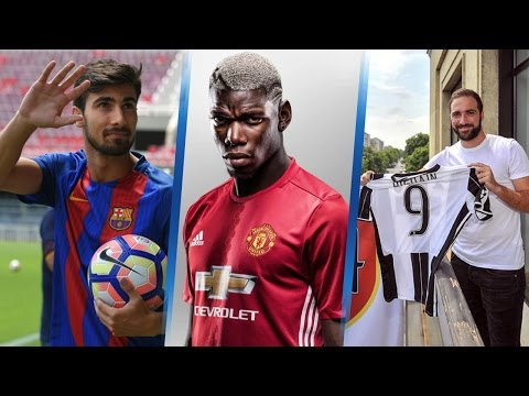20 Most Expensive Football Player Transfers 2016/2017