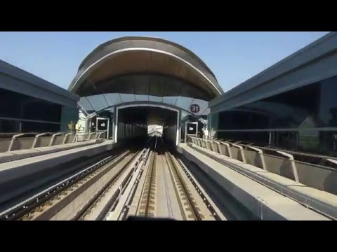 Dubai Metro, Mall of the Emirates to First Gulf Bank (FGB)