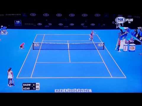 2014澳網Australian Open Women's Singles  Quarterfinals~ Radwanska v  Azarenka(1)爆冷20140125T051741