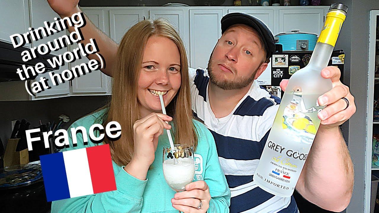 Drinking Around EPCOT's World Showcase   Grey Goose Citron Slush at the France Pavilion
