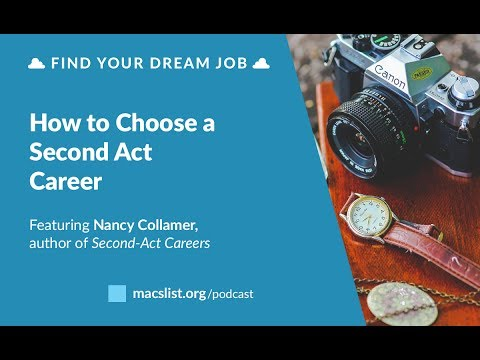 Ep. 079: How to Choose a Second Act Career, with Nancy Collamer