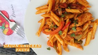Cajun Chicken Pasta Recipe with a Twist| Island Vibe Cooking