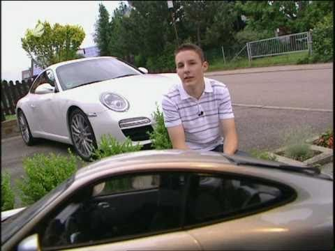 SAT 1 Automagazin Porsche 911 997 Facelift Test