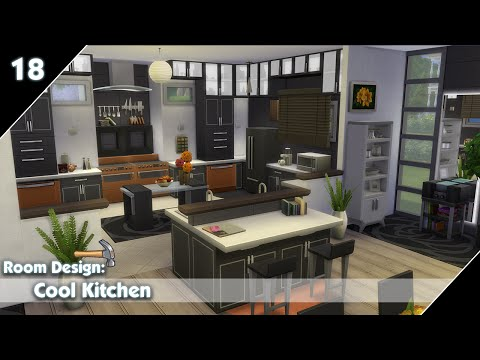 Full download the sims 4 room design 2 modern bathrooms for Sims 4 kitchen designs