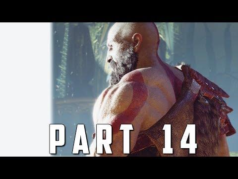 GOD OF WAR Walkthrough Gameplay Part 14 - THE VOICE (God of War 4)
