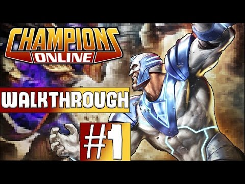 Champions Online Walkthrough 2017 - Episode 1 - Character Creation!