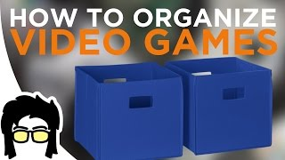 Tips and Tricks: Organizing/Storing Video Games