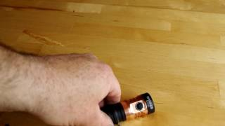 review of the Manker E14II Quad CREE XP-G3 flashlight