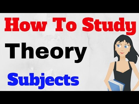 how to read theory subjects