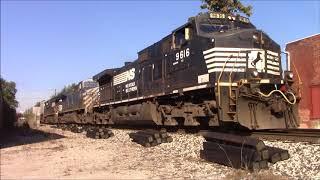 Railfanning at Fostoria Ohio Rail Fest Part 1 September 23rd 2017 thumbnail