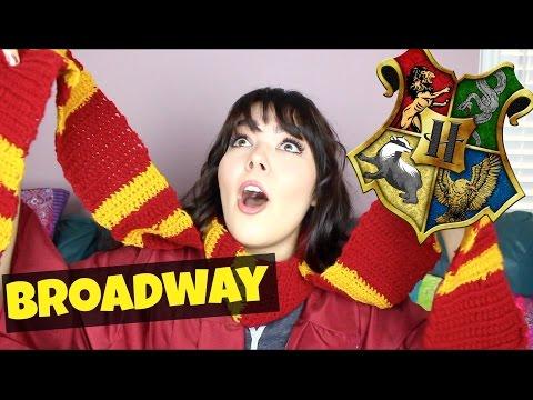 Sorting Broadway Characters into Hogwarts Houses! | Katherine Steele