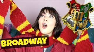 Sorting Broadway Characters into Hogwarts Houses! | Katherine Steele
