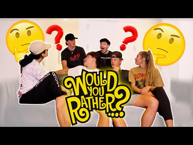 THEY WOULD RATHER WHAT?! ft. Dixie, Curtis, and Friends!