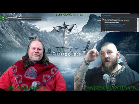 [Viking] #GGETalk mit Arnulf das Schandmaul Livestream 17.02.2017