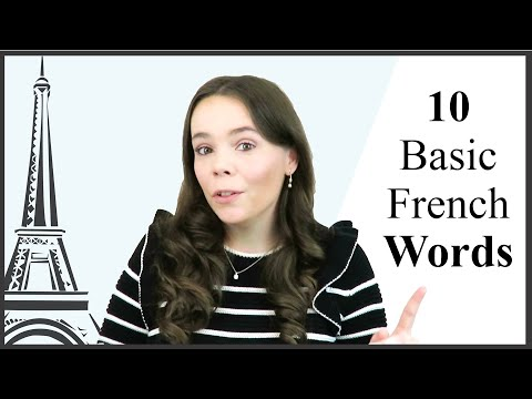 Top 10 Basic French Words Every BEGINNER Should Know