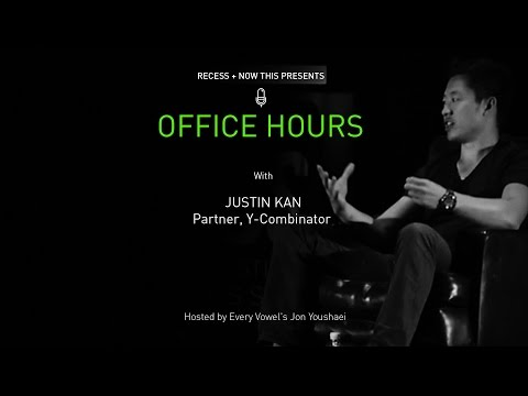 Office Hours: Justin Kan - Partner, Y Combinator (Full-Length)