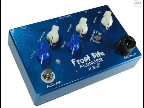 Frostbite Flanger Guitar Pedal Demo By MusicGearFast.com