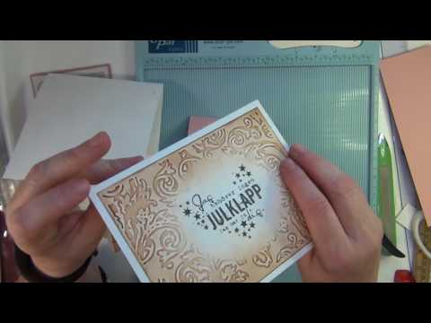 Sari's fun card folding techniques 7 - GIFT CARD HOLDER CARDS - tutorial