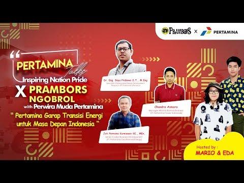PERTAMINA TALKS - INSPIRING NATION PRIDE X PRAMBORS NGOBROL With PERWIRA MUDA PERTAMINAиз YouTube · Длительность: 49 мин49 с