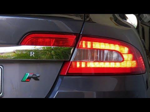 Replacing a Jaguar XF Tail Light - YouTube