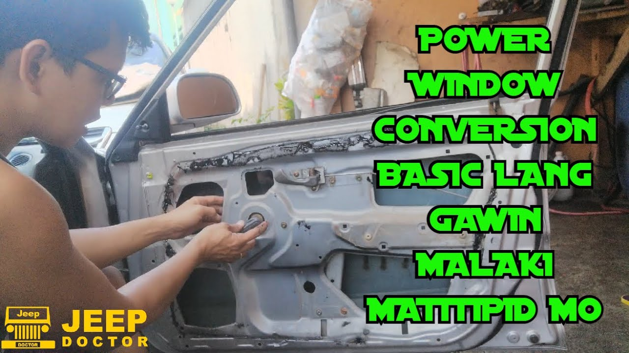 POWER WINDOW CONVERSION - Very EASY lang gawin