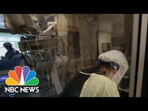 Coronavirus: Inside ICU At Hard-Hit Montana Hospital   NBC Nightly News