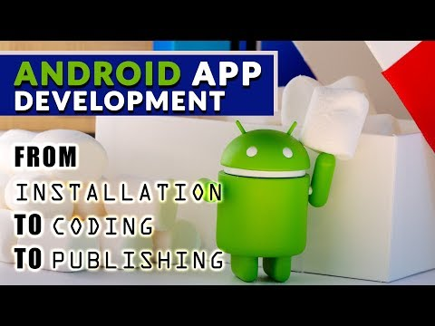 How to develop android apps in mobile