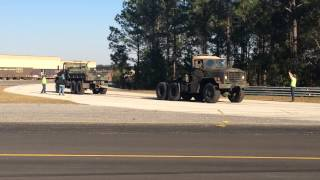 Military Truck vs Military Truck Tug of War 2/14/15 Green Cove Springs Fl