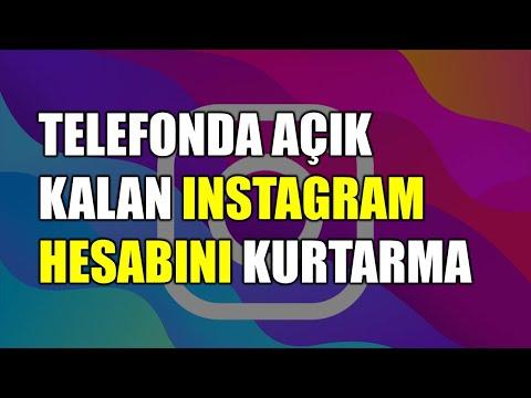 Telefonda Açık Olan Instagram şifresini öğrenme