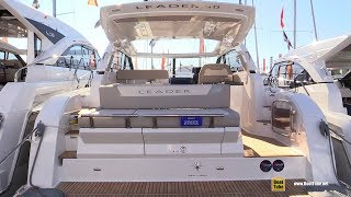 2019 Jeanneau Leader 40 Yacht - Deck and Interior Walkaround - 2018 Cannes Yachting Festival