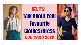 Most important Cue Card favourite clothes (Sep to Dec 2019)